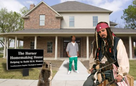Squirrel Kanye & Pirate Homemaking